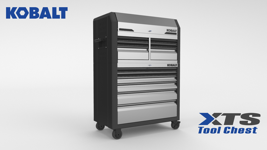 3D Product Launch Animation for Kobalt Tools XTS Tool Chest