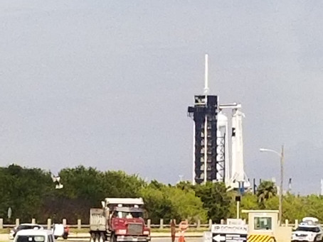 Waiting for SpaceX Crew Dragon Test Launch