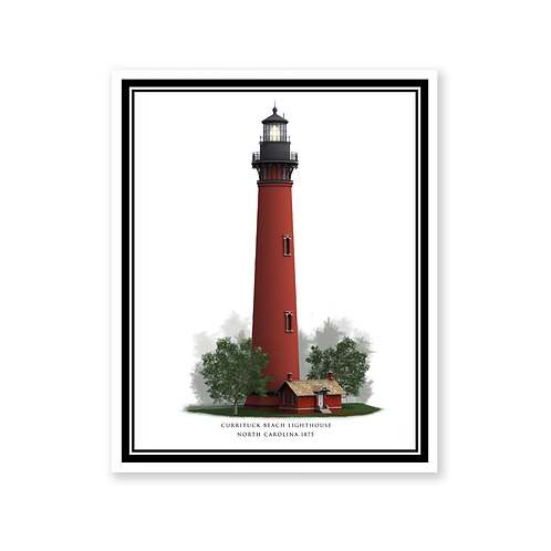 Currituck Beach Lighthouse, North Carolina