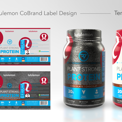 TDF Lululemon Product Labeling