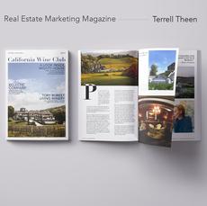 Wine Club Real Estate Magazine