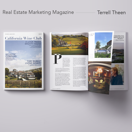 Wine Club Real Estate Magazine