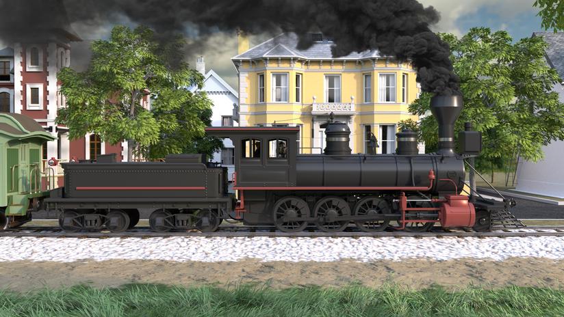 FDOT Train Animation
