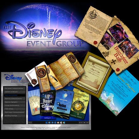Disney Event Group Site Project
