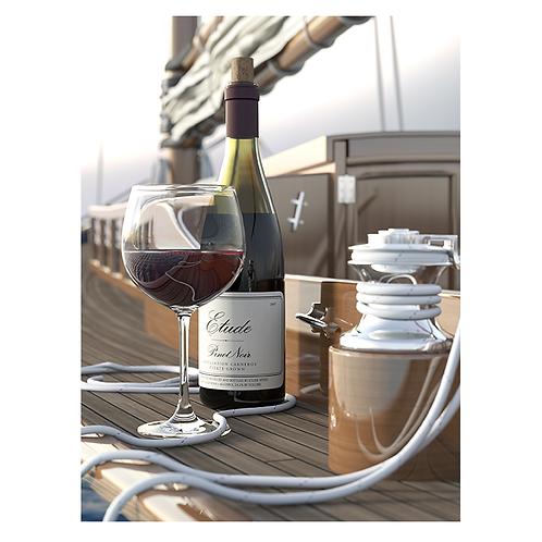 Pinot Noir on NY30 Sailboat