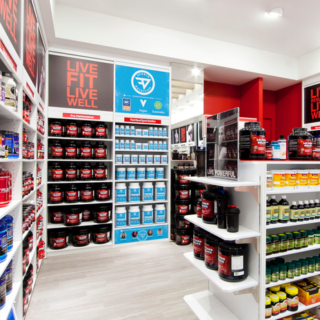 New TDF Sports Display in Existing GNC Store.