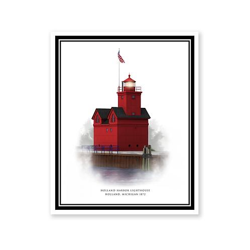 Holland Lighthouse, Michigan