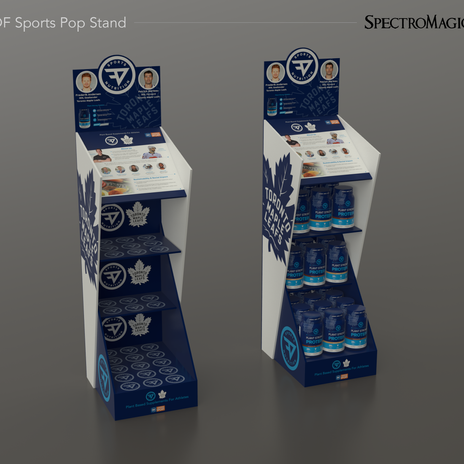 POP Stand design and Graphics