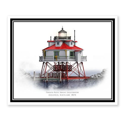 Thomas Point Shoal Lighthouse, Maryland