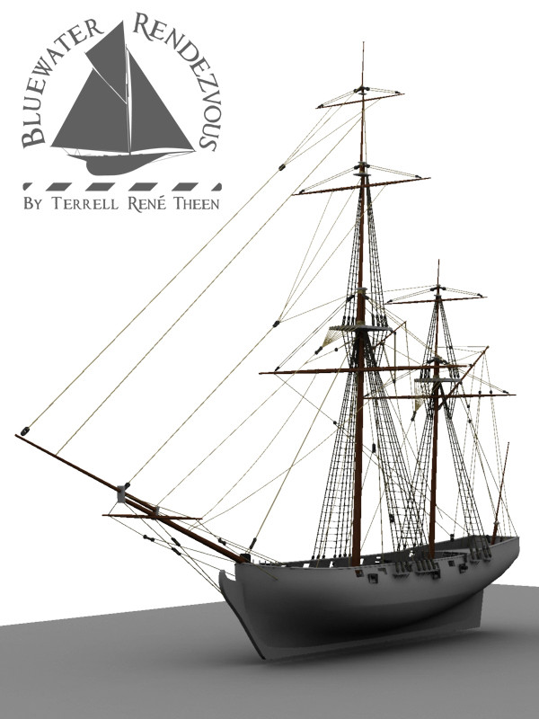 Terrell Rene Theen WIP Ship Model