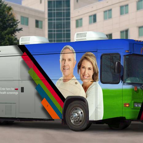 Ohio State Medical Center Bus Wrap