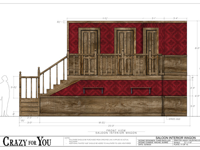Crazy for You Paint Elevation