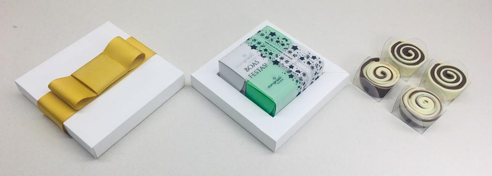 Caixa Luxo 4 unidades