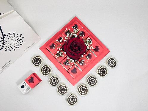 Kit Rosa c / 12 unidades de Rulê