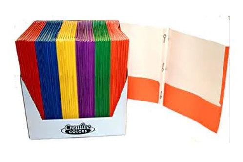2-Pocket Paper Folder