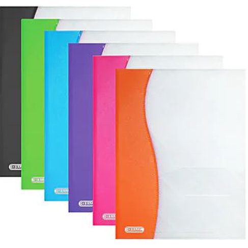 copy of 2-Pocket Plastic Folder