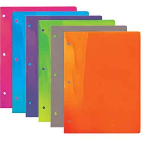 2-Pocket Plastic Folder