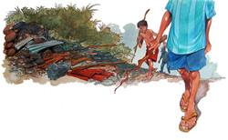 Ilustração - Lápis de cor e Aquarela