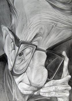 Woody Allen - Caricatura