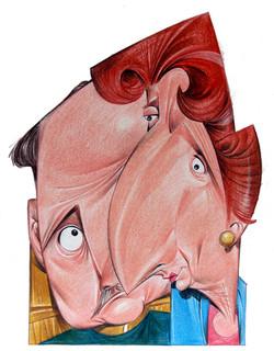 Ilustração - Francisco Franco e Carm