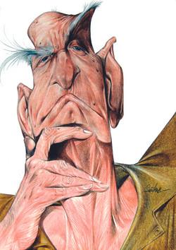 Ariano Suassuna - Caricatura