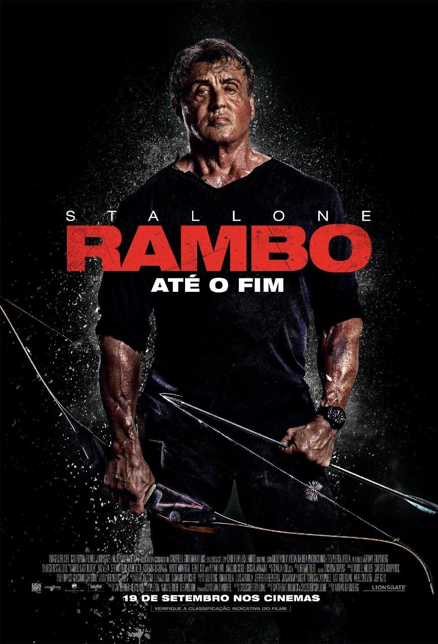 """Rambo """"Até o Fim"""" último filme da franquia é uma das atrações da programação do Cinema Drive-in no Estacionamento do Shopping Bosque Grão-Pará"""