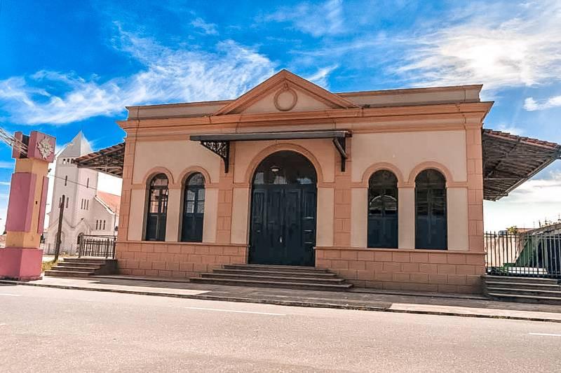 Seguindo protocolos de prevenção à Covid19, a Estação Cultural de Icoaraci volta a receber o público  a partir desta sexta-feira (14/08) reabre - Imagem: Leandro Tocantins - Secult