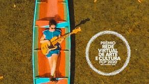 Prêmio Rede Virtual de Arte e Cultura promove atrações online