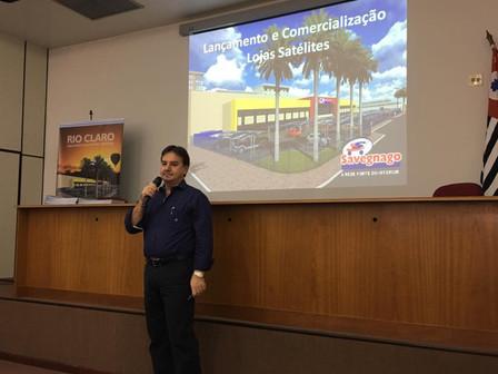 Lançamento das lojas satélites Savegnago em Rio Claro