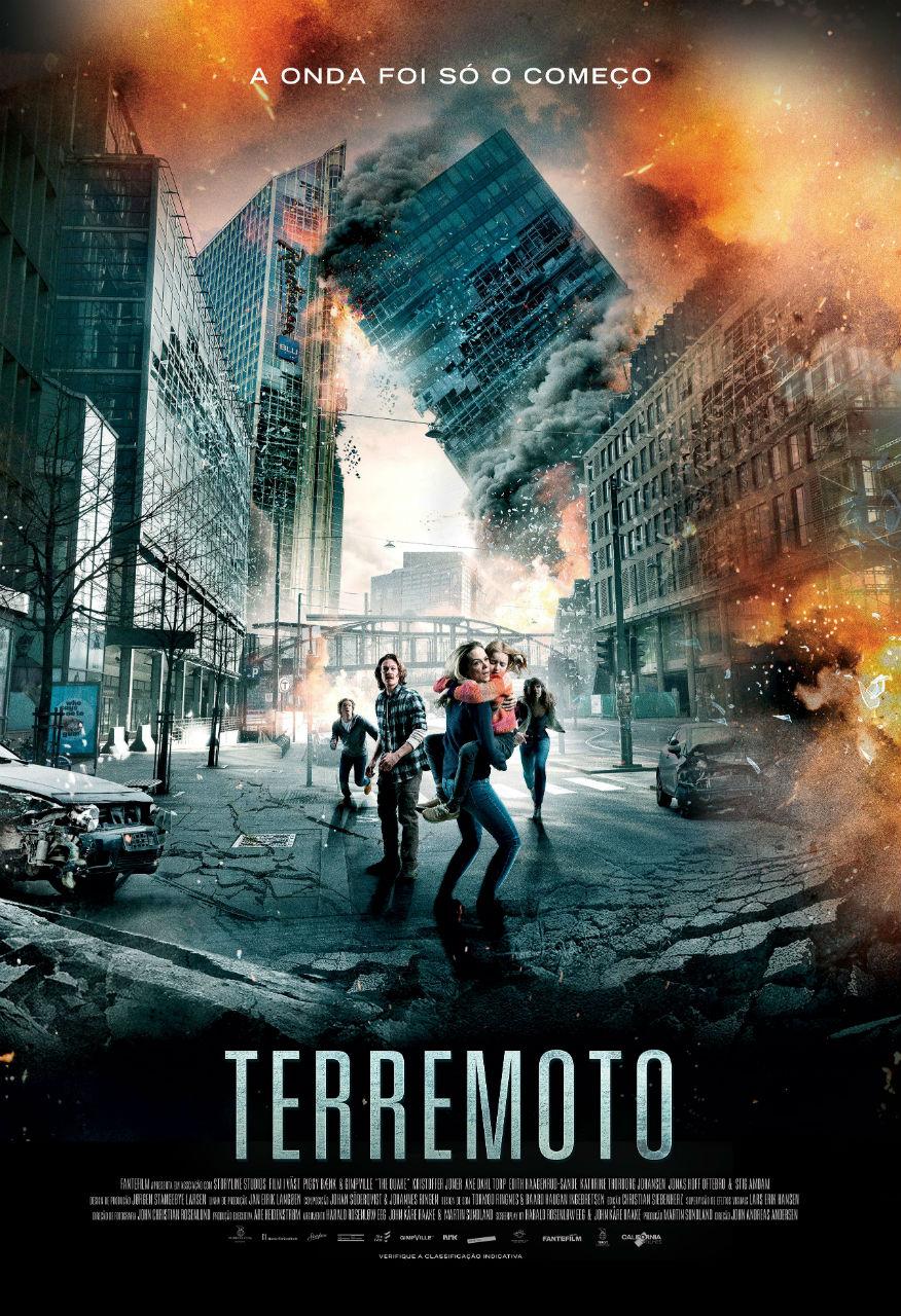 """Filme """"Terremoto"""" será exibido no sábado às 21h30"""