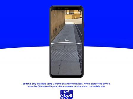 Nova ferramenta de realidade aumentada do Google ajuda a manter distanciamento social