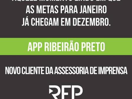 Novo Cliente APP Ribeirão