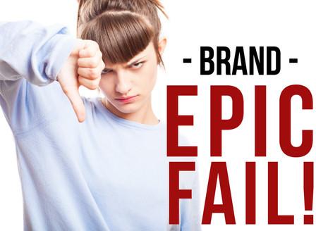 E por falar em Epic Fail...