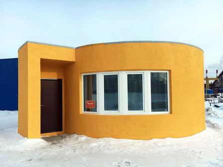 Impressora 3D constrói casa em 24 horas