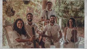 """Quinteto Caxangá realiza lançamento de seu primeiro EP, """"Caxangando"""","""
