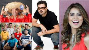 """Live: """"Mão com Música"""" recebe Lia Sophia, Pinduca e Arraial do Pavulagem"""