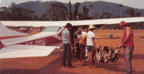 Crônicas: Avião sem banco, cinto e porta