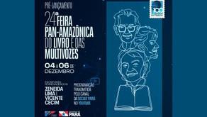 Feira Pan-Amazônica do Livro e Multivozes tem pré-lançamento virtual neste fim de semana