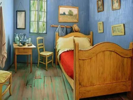 Aluga-se quarto de van Gogh! Topa?