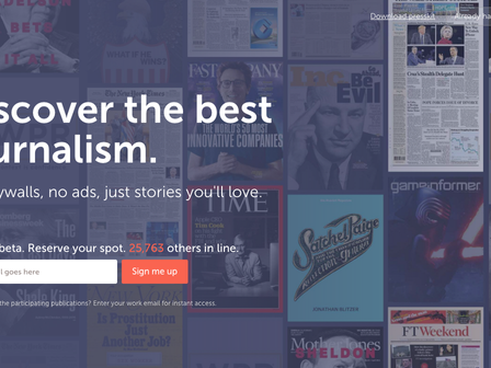 Spotify, Netflix e… Jornalismo!