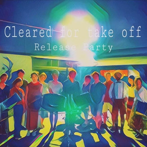 New EP「Cleared for take off」 リリースパーティー 野外ライブ配信開催!!