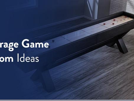 Garage Game Room Ideas