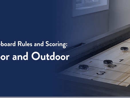 Shuffleboard Rules and Scoring: Indoor and Outdoor