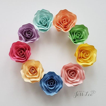 Mini roses. Have yourself a very vibrant
