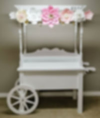 Sweets cart for a baby shower. See previ