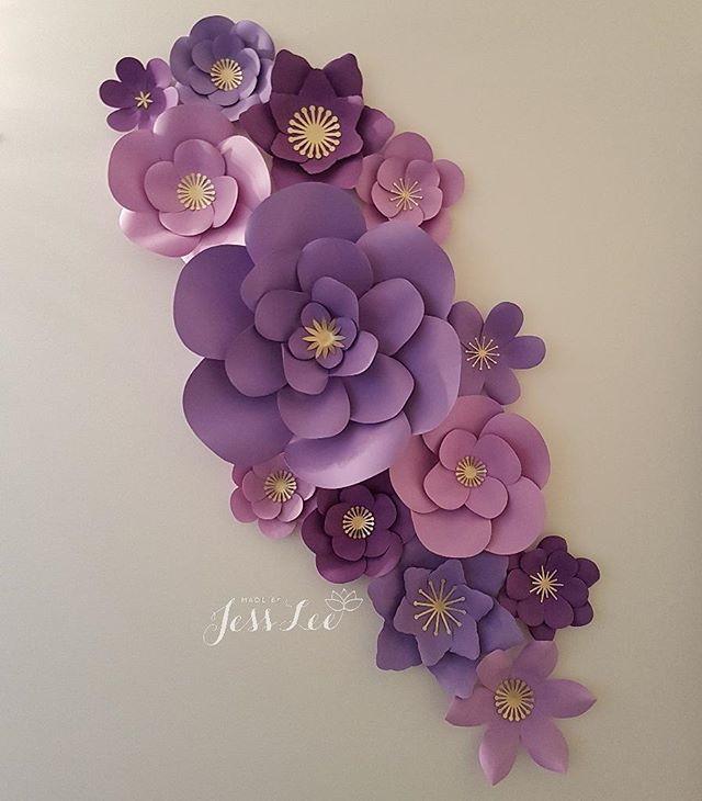 Gallerytoronto flower wall rentals paper flowers made by jess lee paper flower wall decor mightylinksfo