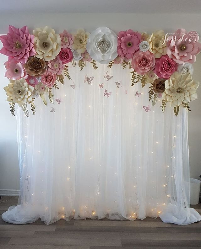 Gallerytoronto Flower Wall Rentals Paper Flowers Made By Jess Lee