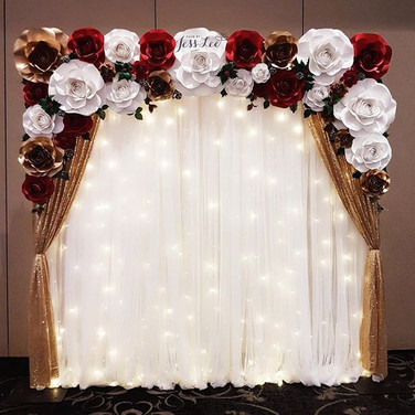 Rustic winter bridal shower