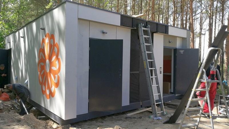 Toaleta modułowa | Budowa