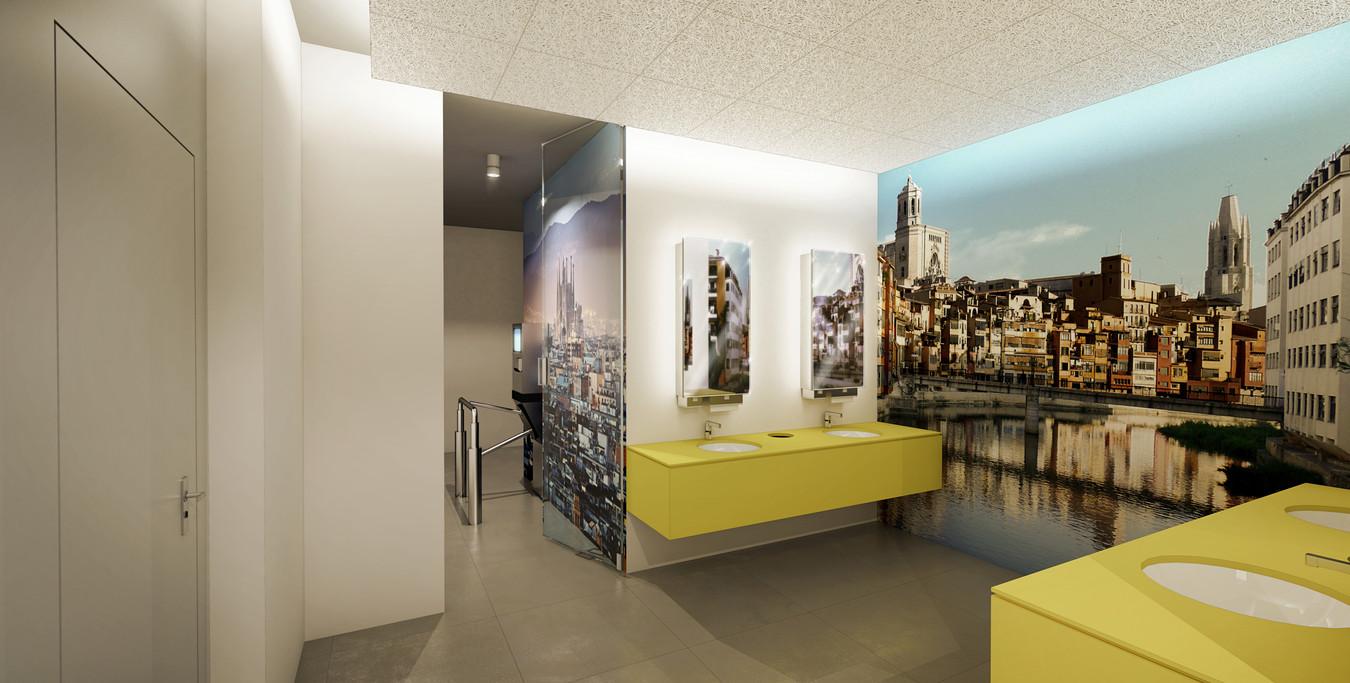 Toaleta stacjonarna | Barcelona